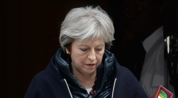 Prime Minister Theresa May orders expulsion of 23 suspected Russian spies after Salisbury attack (Kirsty O'Connor/PA)