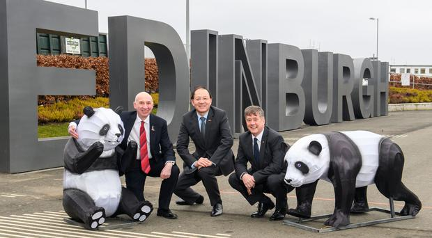Edinburgh Airport bosses have announced a new route to China (Ian Georgeson/PA)