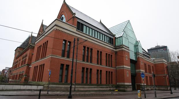 The apology was made at Manchester Crown Court, Minshull Street (Dave Thompson/PA)
