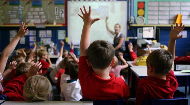 Concerns were raised at a school in Edinburgh about weather causing flashing to flap about (Dave Thompson/PA)