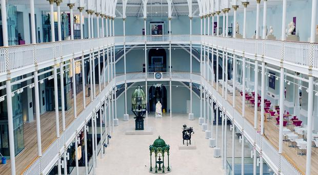 The National Museum of Scotland welcomed more than two million visitors (ALVA/PA)