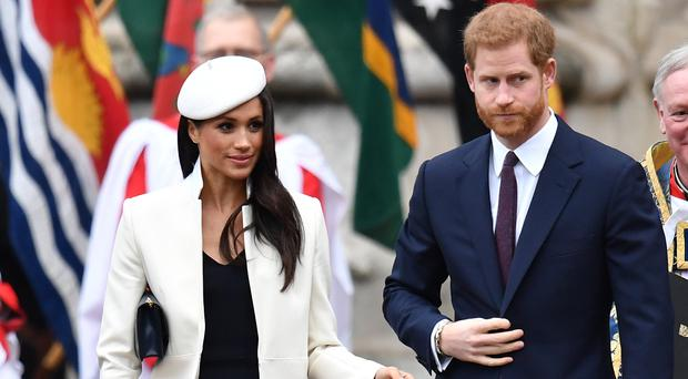 The Archbishop of Canterbury will marry Prince Harry and Meghan Markle (Joe Giddens/PA)