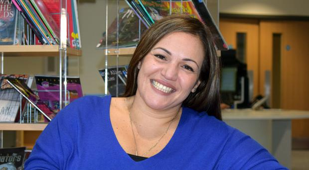Andria Zafirakou has been shortlisted for a million-dollar teaching prize (Varkey Foundation)