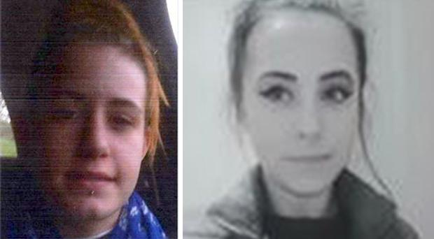 Mercy Russell (left) and Charmaine Charlesworth (Devon and Cornwall Police/PA)