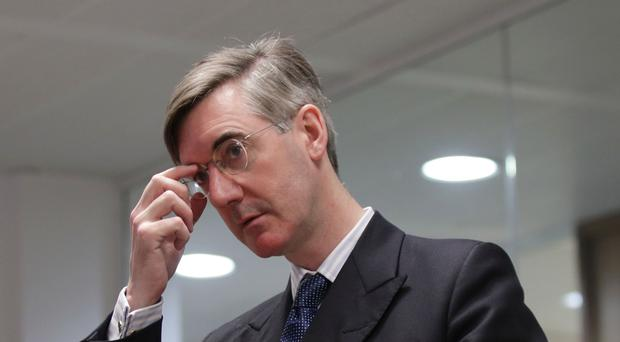 Conservative MP and arch Brexiteer Jacob Rees-Mogg (Yui Mok/PA)