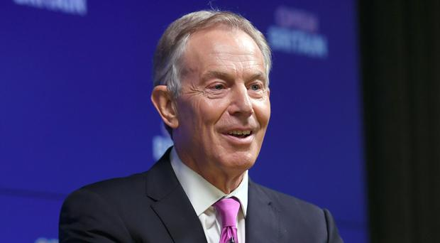 Tony Blair prioritised education when he came to power in 1997 (Victoria Jones/PA)
