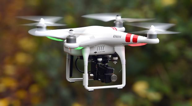 Some 92 near misses between drones and aircraft were recorded in 2017 (Joe Giddens/PA)