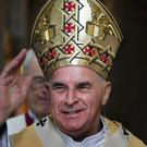 Cardinal Keith O'Brien who has died aged 80