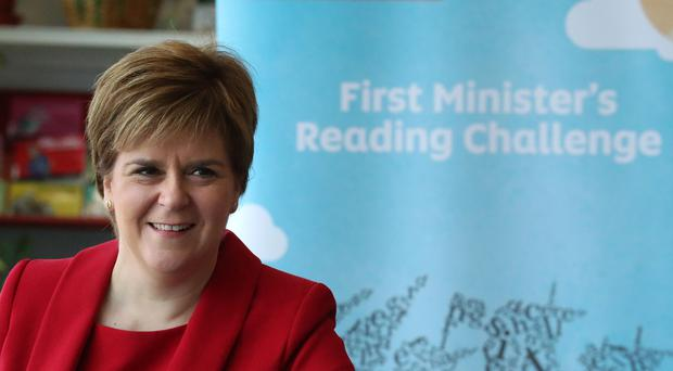 First Minister Nicola Sturgeon has announced her reading challenge is to be extended (Andrew Milligan/PA)