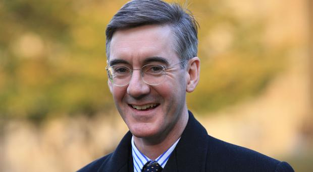 Conservative MP Jacob Rees-Mogg (Jonathan Brady/PA)