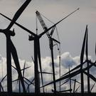 Wind energy hit new record highs on Saturday (Danny Lawson/PA)