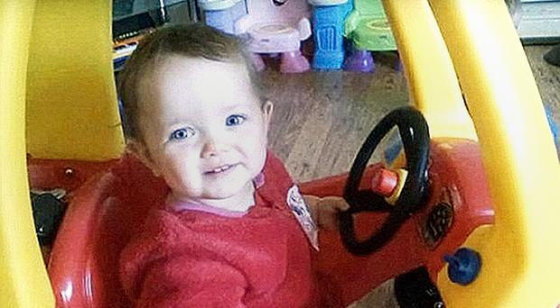 Poppi Worthington died in hospital aged 13 months (Family handout/PA)