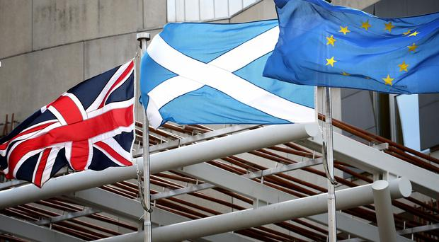 A cross-party group of Scottish politicians has brought a legal challenge to Brexit (Jane Barlow/PA)