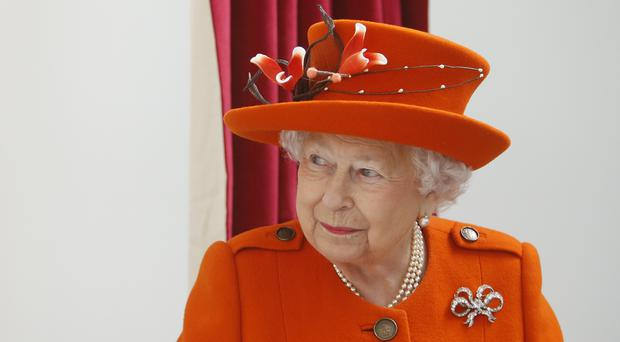 The Queen at the Royal Academy of Arts (Alastair Grant/PA)