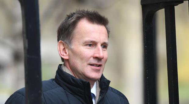 Jeremy Hunt has set out plans for reform of social care (Stefan Rousseau/PA)