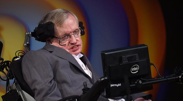 Professor Stephen Hawking's ashes are to be interred alongside Sir Isaac Newton in Westminster Abbey (Joe Giddens/ PA)
