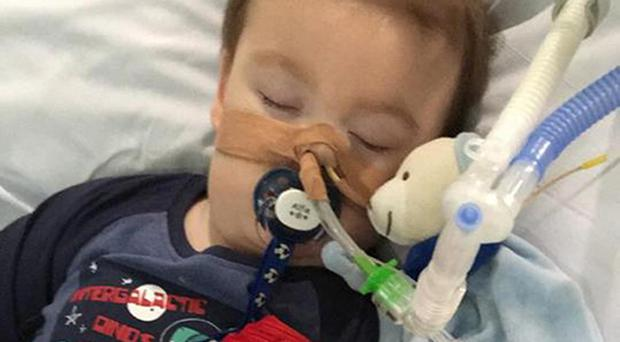 Doctors want to withdraw life support treatment for Alfie Evans (Alfies Army Official/PA)