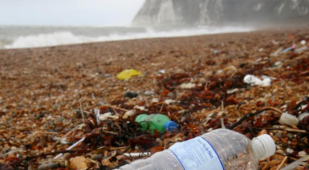 Rubbish left on a beach in Dover, Kent (Gareth Fuller/PA)