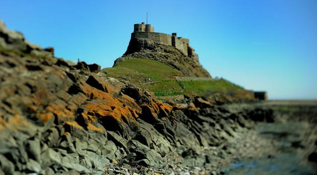 Lindisfarne Castle (Owen Humphreys/PA)