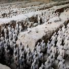 Flights between Heathrow and Xi'an launch this summer (Museum of the Terracotta Army/PA)