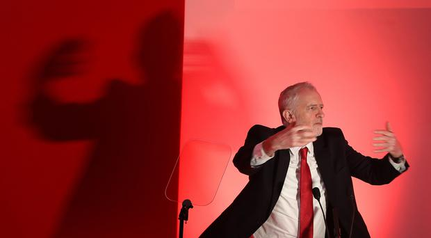 Labour leader Jeremy Corbyn urged voters to show a desire for change (Owen Humphreys/PA)stle