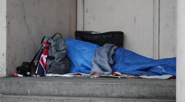 Homelessness Stock