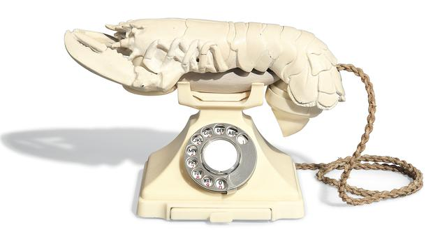 Dali's lobster telephone is at risk of being exported from the UK (DDCMS/PA)
