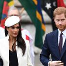 Prince Harry and Meghan Markle (Joe Giddens/PA)