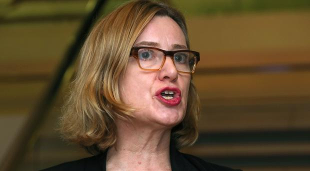 Home Secretary Amber Rudd has launched a campaign to tackle knife crime (Chris Radburn/PA)