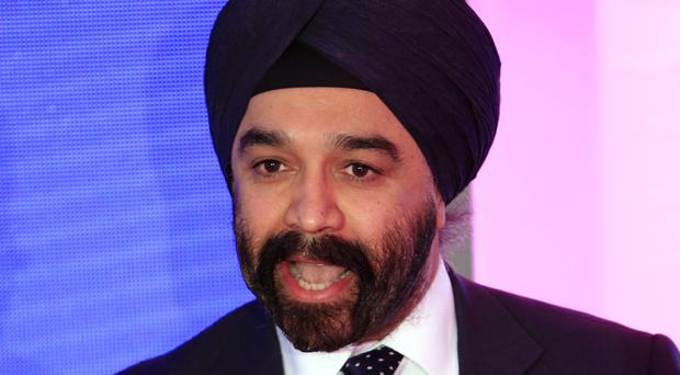 Sir Harpal Kumar, chief executive of Cancer Research UK, as the charity releases research into how lifestyle changes could prevent nearly 40% of cancer cases (Jonathan Brady/PA)