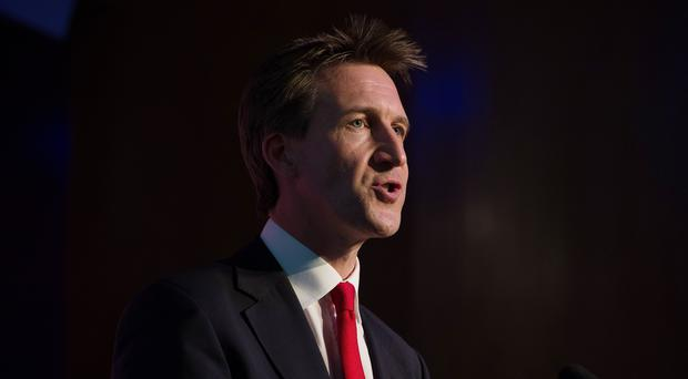 Former paratrooper Dan Jarvis has been selected as Labour's candidate (Laura Lean/PA)