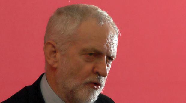 Jeremy Corbyn is under fire over Brexit and an anti-Semitism row (Peter Byrne/PA)