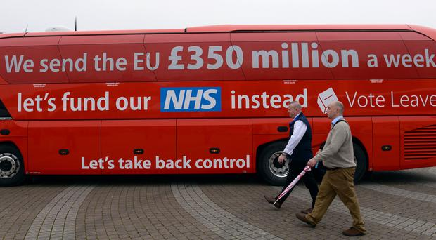 Cabinet ministers Boris Johnson, Michael Gove and Chris Grayling were among senior politicians involved in the Vote Leave campaign (Stefan Rousseau/PA)