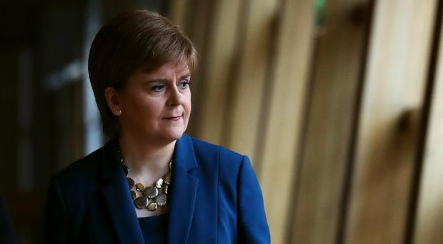 First Minister Nicola Sturgeon will warn Scotland's renewables sector is at risk from a hard Brexit (Andrew Milligan/PA)