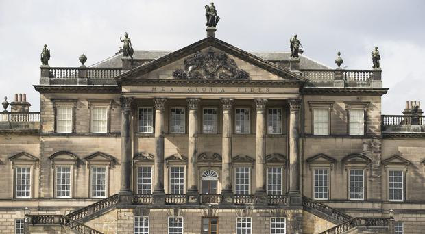 Exterior view of Wentworth Woodhouse in Rotherham (Aaron Chown/PA)