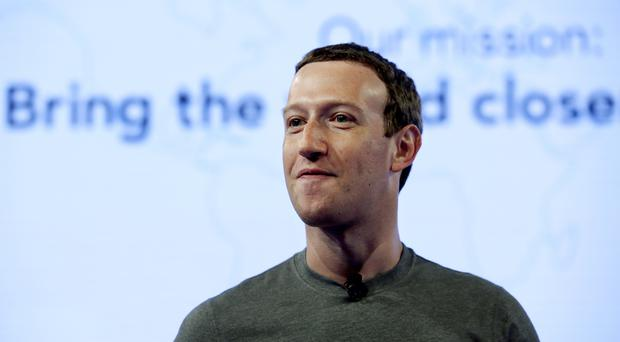 Mark Zuckerberg has apologised for a breach of trust over leaked data (AP Photo/Nam Y. Huh, File)
