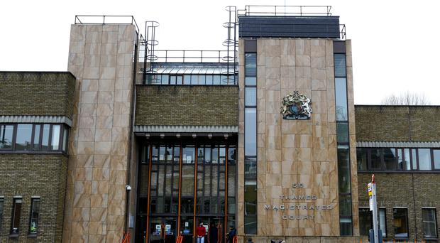 Yakymchuck is due before Thames Magistrates Court (Gareth Fuller/PA)