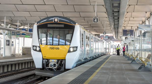The system is being used on the Class 700 Thameslink trains (GTR/PA)