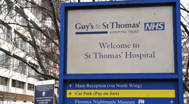 Andrew Taylor was a locksmith at Guy's and St Thomas' NHS Foundation Trust (PA)