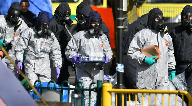 UK allies have expelled scores of Russian intelligence officers over the Salisbury nerve agent attack (Ben Birchall/PA)