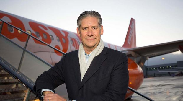 Johan Lundgren became easyJet boss in December (easyJet/PA)