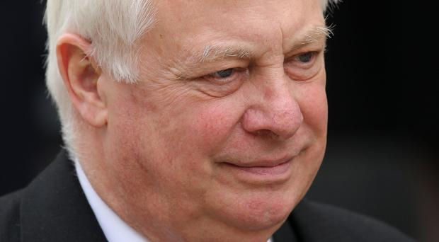 Tory grandee Lord Patten has traded jibes with Jacob Rees-Mogg over Brexit (Chris Jackson/PA)