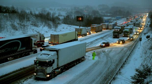 Transport Minister Humza Yousaf said road closures could be considered in future adverse weather