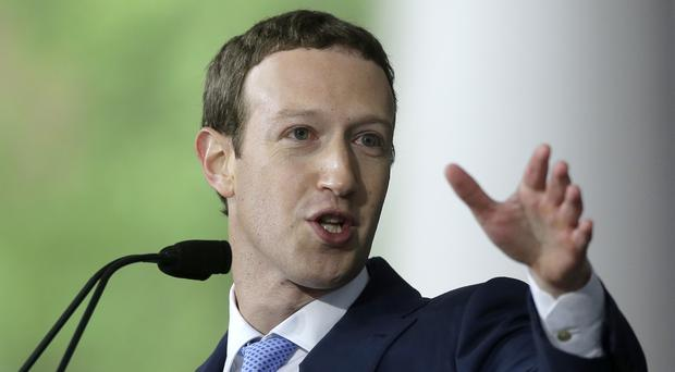 Mark Zuckerberg declined to appear before the committee (Steven Senne/AP)
