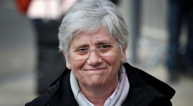 Former Catalan Minister Professor Clara Ponsati who is facing extradition to Spain (Jane Barlow/PA)