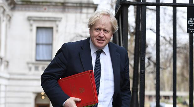 The Foreign Secretary said that the concerted global action should act as a wake-up call for Moscow (Stefan Rousseau/PA)