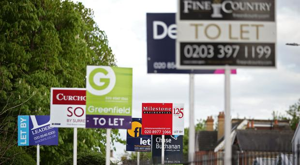Tenants deposits should be capped at five weeks' worth of rent instead of six, a committee of MPs has said (PA)