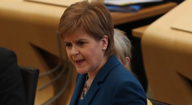 First Minister Nicola Sturgeon calls for investigation into Vote Leave claims (Andrew Milligan/PA)