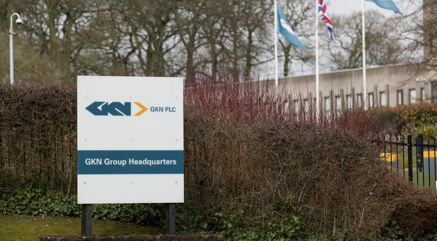 The headquarters of GKN in Redditch