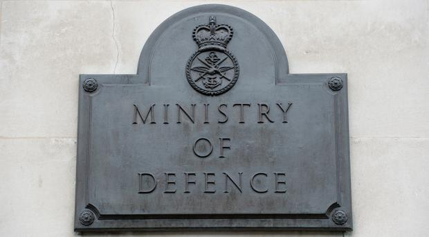 The deceased was embedded with US forces when they died, the MoD said (Kirsty O'Connor/PA)